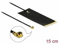 Delock LPWAN Antenna MHF® I plug -2.63 dBi 1.13 15 cm FPC internal self adhesive
