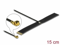 Delock LPWAN Antenna MHF® I plug - 0.38 dBi 1.13 15 cm FPC internal self adhesive