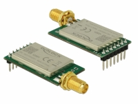 Delock IoT LoRa Radio Module 868 MHz 20 dBm TTL (3.3 V) pin header male > SMA jack