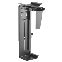 VALUE Under Desk /Wall Mount PC Holder, black