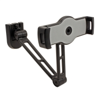 VALUE Holder for IPad/Ebook/Tablet, Wall- / Under Cabinet Mount, black, 4 Joints
