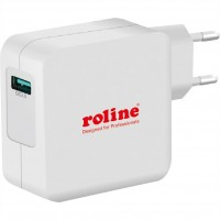 ROLINE USB Wall Charger Euro Plug, 1 port, QC3.0, 24W