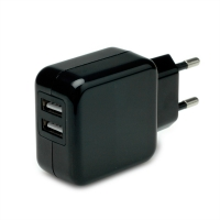 VALUE USB Wall Charger, 2 Ports, 10W