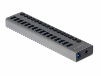Delock External USB 3.0 Hub with 16 Ports + Switch