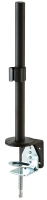 Lindy 400mm Desk Clamp Pole, black