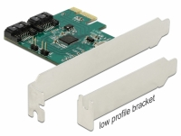 Delock 2 port SATA PCI Express Card with RAID