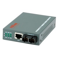ROLINE RC-100FX/SC Fast Ethernet Converter, RJ-45 to SC, Loop-back