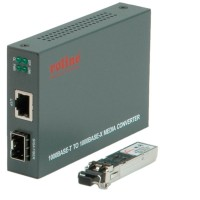 ROLINE Gigabit Converter, incl. GBIC, RJ-45 to LC
