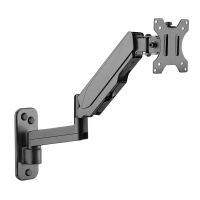 VALUE LCD Monitor Arm, Wall Mount, 5 Joints, Pivot, black