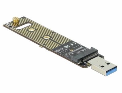 Delock Converter for M.2 NVMe PCIe SSD with USB 3.1 Gen 2