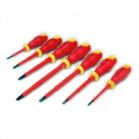 VALUE Insulated Electricion Screwdriver Set - 7 Pieces