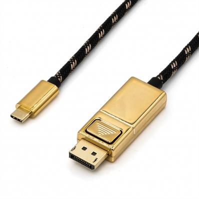 ROLINE GOLD Type C - DisplayPort Cable, M/M, 1 m