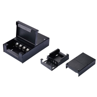 VALUE Consolidation Box, 4 Keystones, black