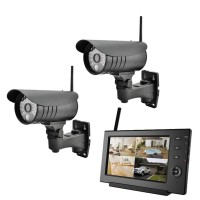 VALUE 4CH Digital Wireless Camera Set, with Internet functionality