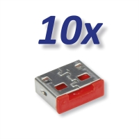 ROLINE USB Port Lock / Blocker 10x USB for 11.02.8330