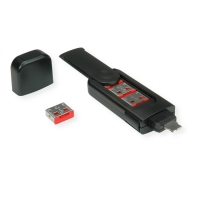 ROLINE USB Type A Port Blocker, 4x lock and 1x key