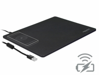 Delock USB Mouse Pad with Wireless Charging function