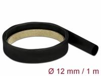 Delock Heat Shrink Tube 1 m x 12 mm black