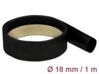 Delock Heat Shrink Tube 1 m x 18 mm black