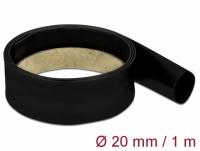 Delock Heat Shrink Tube 1 m x 20 mm black