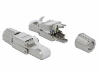 Delock RJ45 plug Cat.6 STP toolfree