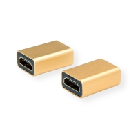 ROLINE GOLD HDMI Adapter, HDMI F - HDMI F