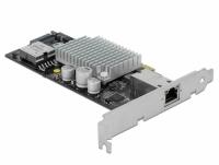 Delock PCI Express Card to 1 x 10GBase-T LAN PoE+ RJ45