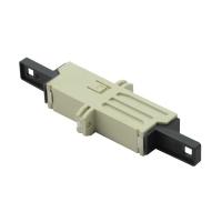 ROLINE Fibre Optic Adapter, LSH, Flange, beige