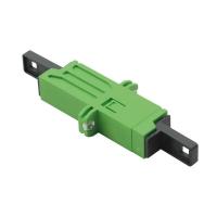 ROLINE Fibre Optic Adapter, LSH, Flange, green