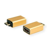 ROLINE HDMI Adapter, HDMI F - HDMI Mini M