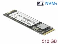 Delock M.2 SSD PCIe / NVMe Key M 2280 - 512 GB