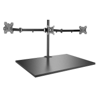 Lindy Triple Display Bracket with Pole and Desk Clamp
