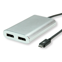 ROLINE Thunderbolt™ 3 - 2x DisplayPort Video Adapter