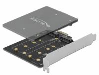 Delock PCI Express x1 Card to 2 x internal M.2 Key B