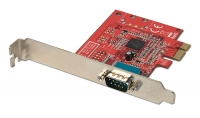 Lindy 1 Port Serial RS-232, 16C650, 128 Byte FIFO, PCIe Card