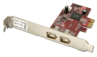 Lindy FireWire Card with TI Chipset- 2 Port, PCI Express