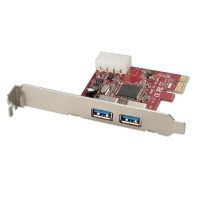 Lindy USB 3.0 Card, PCIe, 2 Port
