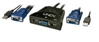 Lindy KVM Switch Classic USB & VGA 2 Port