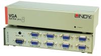 Lindy VGA Splitter Pro, 450MHz, 8 Port
