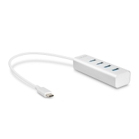 Lindy 4 Port USB 3.1 Type C Hub