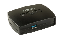 Lindy 4 Port USB 3.0 Switch
