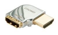 Lindy CROMO HDMI Male to HDMI Female 90 Degree Right Angle Adapter - Right
