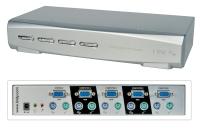 Lindy KVM Switch Pro Audio VGA, 4 Port Bundle