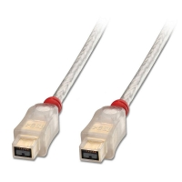 Lindy Premium FireWire 800 Cable - 9 Pin Beta Male to 9 Pin Beta Male, 0.3m