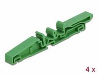 Delock DIN rail clip for PCB 115 mm 4 pieces