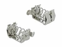 Delock Shield Clamp for DIN Rail - Cable diameter 15 - 32 mm
