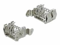 Delock Shield Clamp for DIN Rail - Cable diameter 10 - 20 mm
