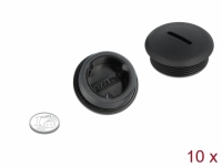 Delock Sealing Plug M32 x 1.5 black 10 pieces