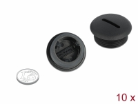 Delock Sealing Plug M25 x 1.5 black 10 pieces