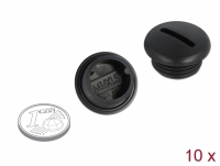 Delock Sealing Plug M16 x 1.5 black 10 pieces